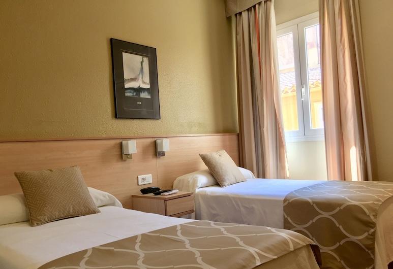 Hotel Alkázar, Valencia, Habitación con 1 cama doble o 2 individuales, Habitación