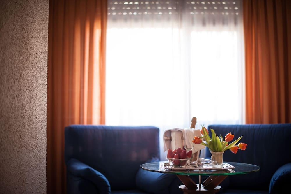 Люкс - Гостиная