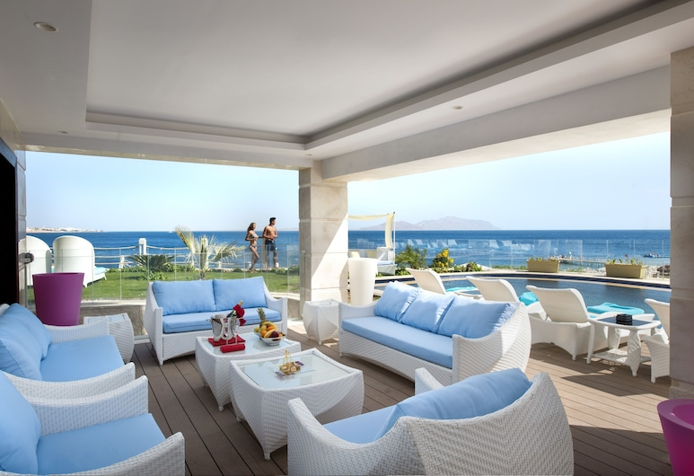 SUNRISE Arabian Beach Resort - Grand Select, Sharm el Sheikh, Royal villa, Terrass