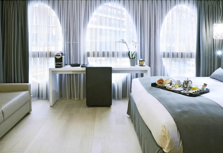 Best Western Premier Why Hotel, Lille, Chambre Deluxe, 1 très grand lit, Chambre