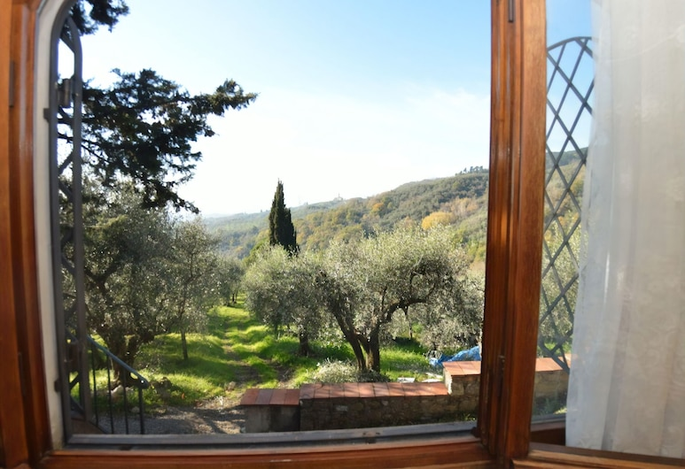 San Gennaro Castello, Capannori, Apartamento, Lareira, Vista Colina, Vista a partir das Varandas