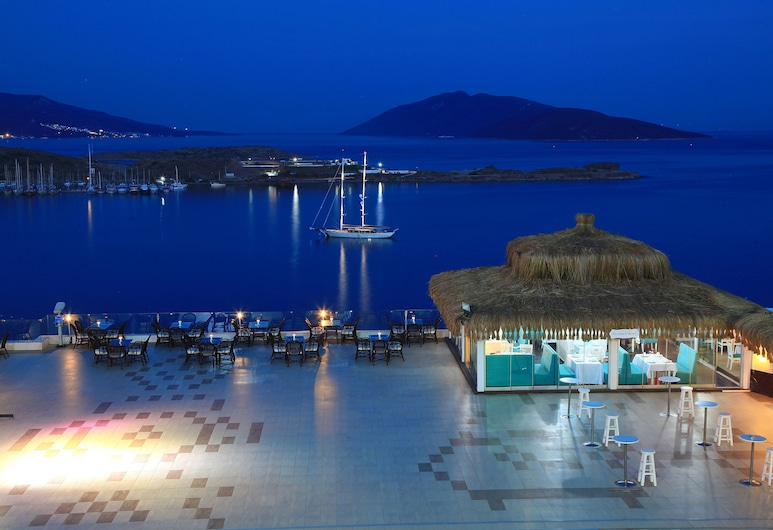 Royal Arena Hotel & Resort Spa, Bodrum, Blick vom Hotel