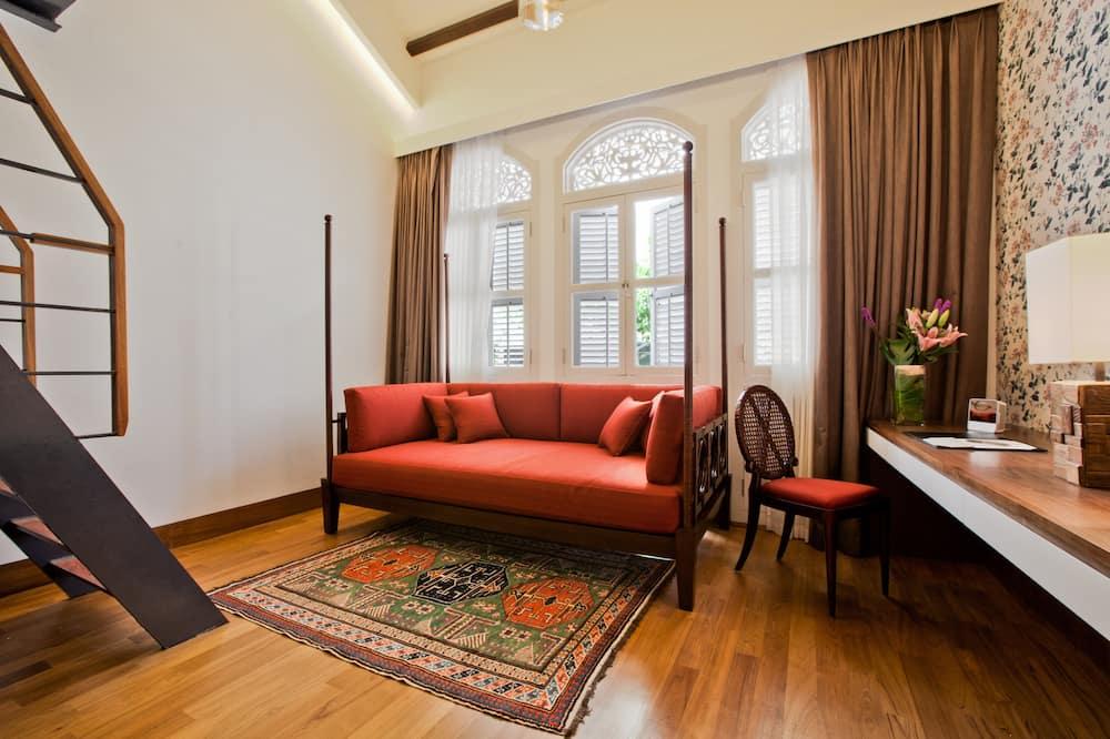 ลอฟท์, เตียงคิงไซส์ 1 เตียง และโซฟาเบด (Sultan) - ห้องพัก