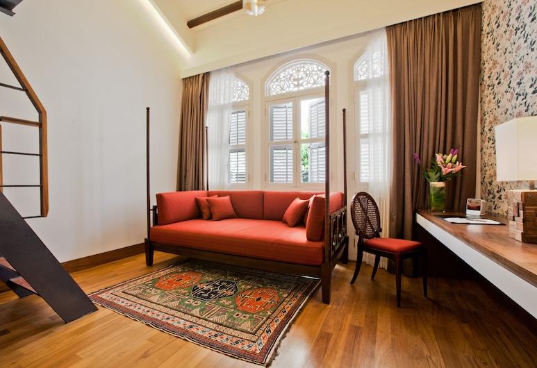 The Sultan (SG Clean), Σινγκαπούρη, Λοφτ, 1 King Κρεβάτι με Καναπέ-Κρεβάτι (Sultan), Δωμάτιο επισκεπτών