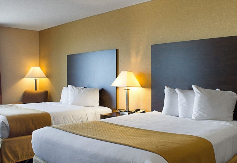 Quality Inn & Suites, Minot, Habitación estándar, 2 camas de matrimonio, no fumadores, Habitación