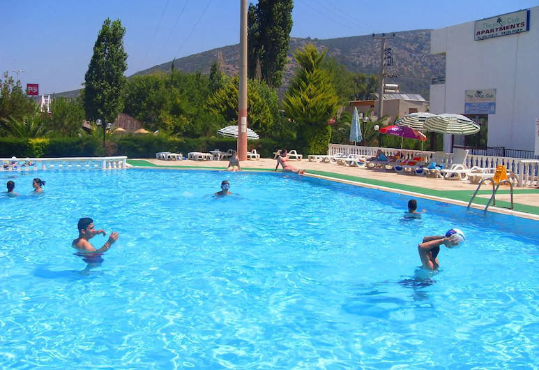 The Palm Club Apart Otel, Kuşadası, Açık Yüzme Havuzu