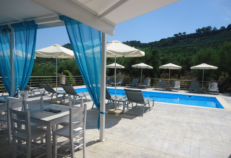 Valentino Villas & Apartments, Ζάκυνθος, Εξωτερική πισίνα
