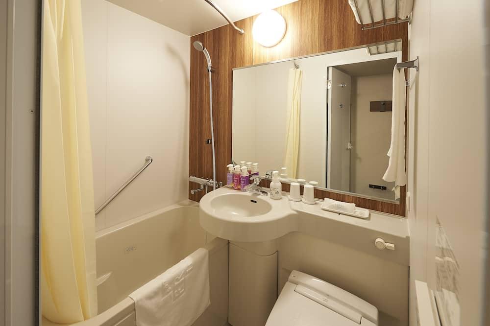 コンフォート ダブルルーム クイーンベッド 1 台 禁煙 - バスルーム