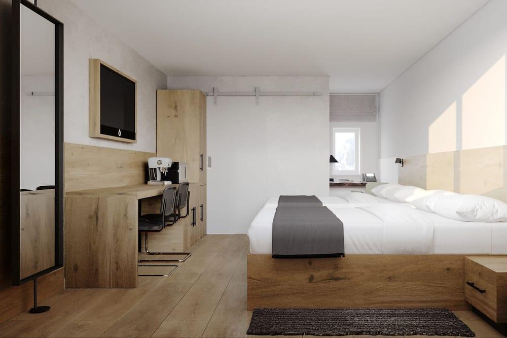 Номер, 2 ліжка «квін-сайз» - Номер