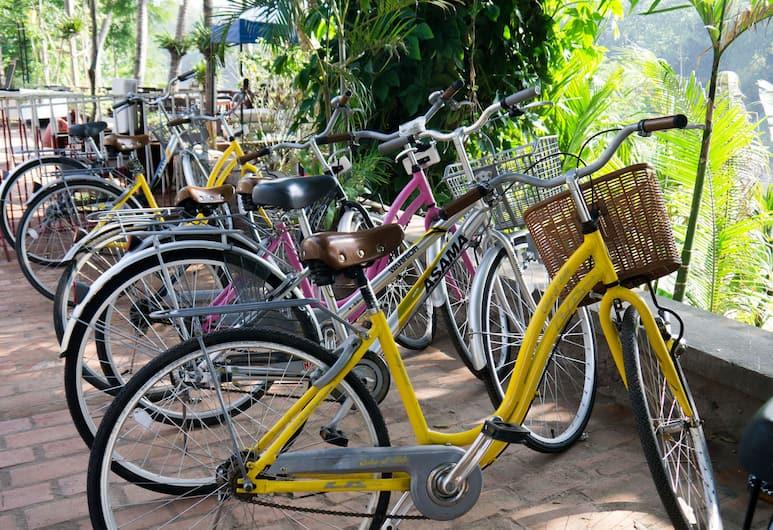 Cafe de Laos, Luang Prabang, Fahrrad fahren