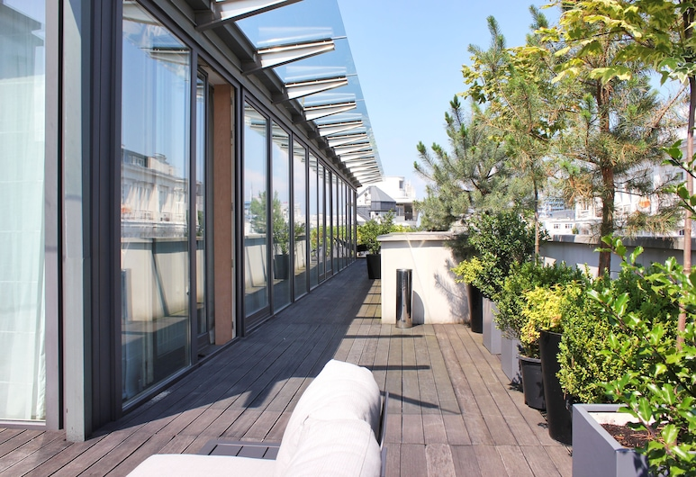 H15 Boutique Hotel, Warsaw, Panoramic Penthouse, 1 Bedroom, Terrace/Patio