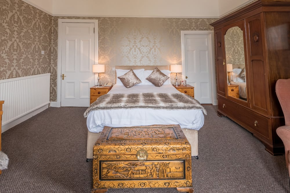 Superior-Doppel- oder -Zweibettzimmer, Meerblick - Wohnbereich