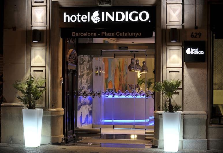Hotel Indigo Barcelona - Plaza Catalunya, Barselóna, Yfirbyggður inngangur