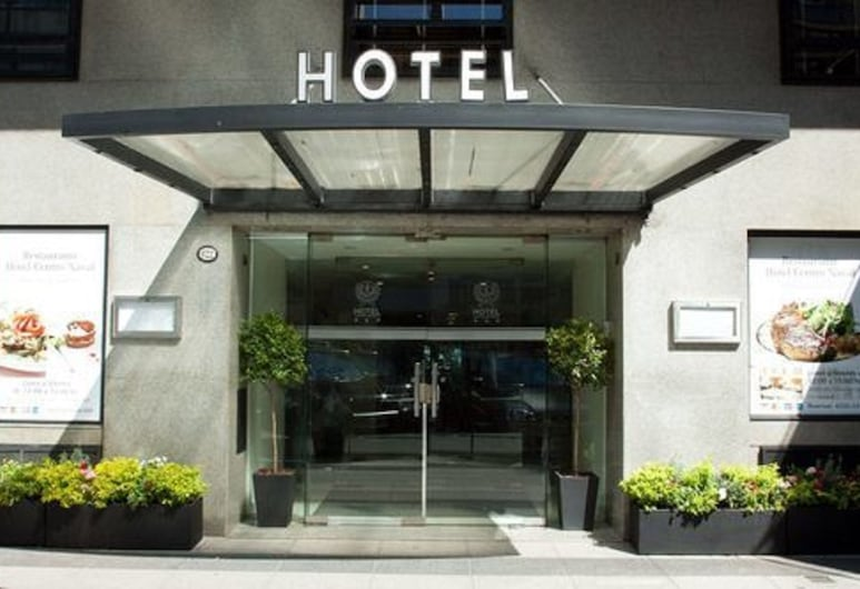 Hotel Centro Naval, Buenos Aires, Hoteleingang