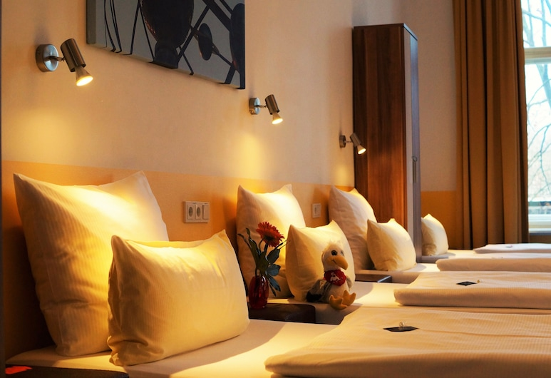Grand Hostel Berlin Classic, Berlin, Felles sovesal (Bed(s) in a Dorm for 8, Ensuite), Gjesterom
