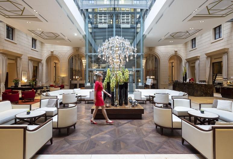 Palais Hansen Kempinski Vienna, Wien, Lounge i lobbyn