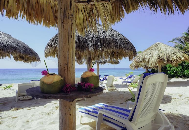 Villas De Rosa Beach Resort, Akumal, Ausblick von der Unterkunft