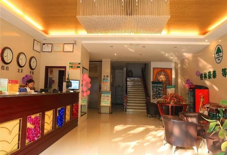 GreenTree Inn Suzhou Yongqiao District Railway Station Express Hotel, Suzhou, Rezeption