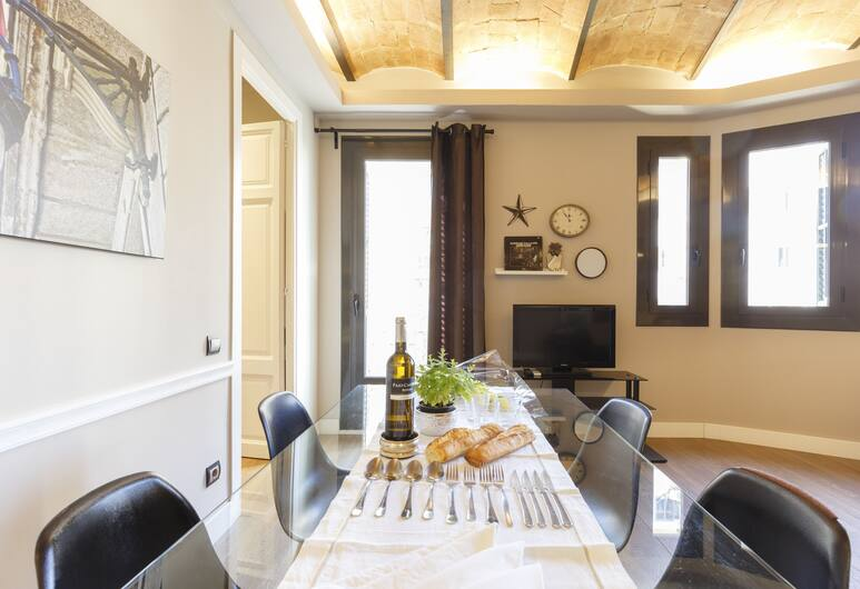 AinB Eixample Miró Apartments, Барселона, Стандартные апартаменты, 2 спальни, Номер