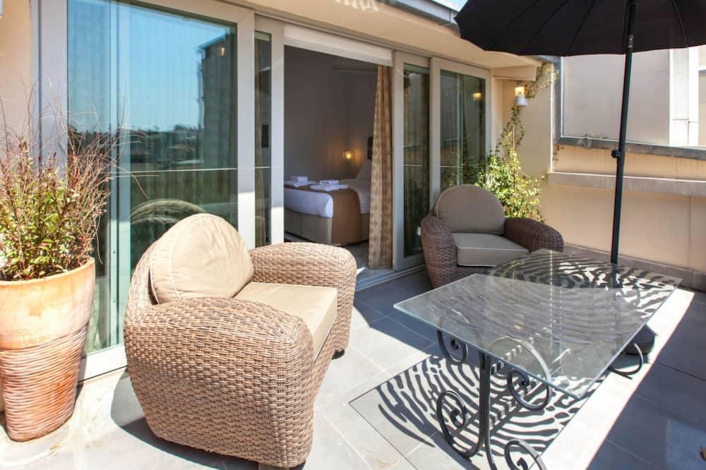 Design-Apartment, Terrasse - Profilbild