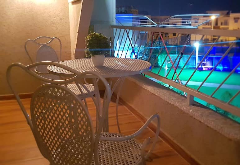 City Apartments Eilat, Eilat, Luxury Apartment, Balcony