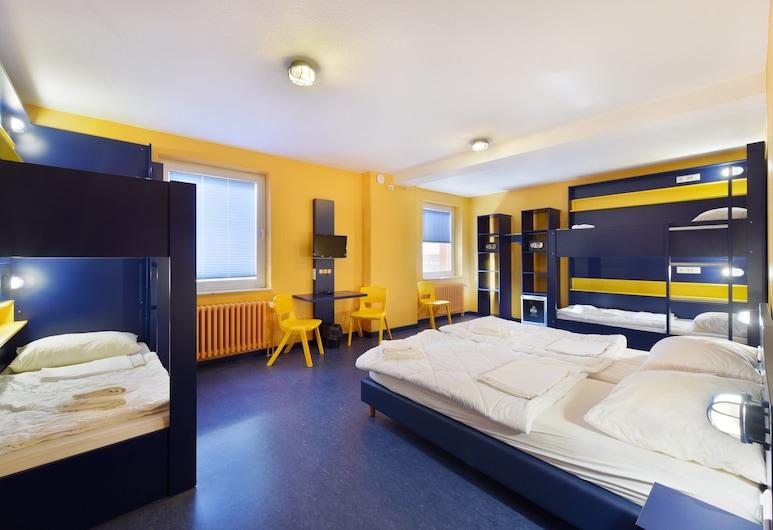 بيد آند بدجيت سيتي - هوستل, هانوفر, غرفة - بحمام مشترك (for 6 people), غرفة نزلاء