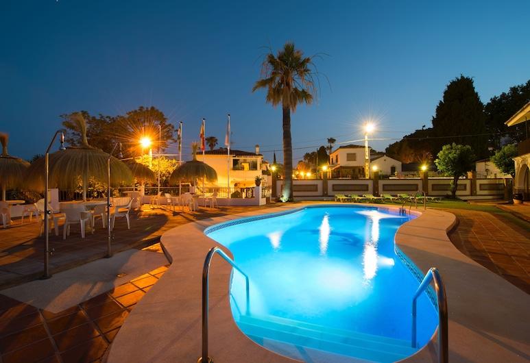 La Baranda, Torremolinos, Zwembad op dak