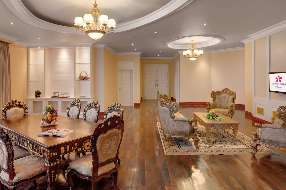 Villa, 1 très grand lit (Yihup) - Salle de séjour