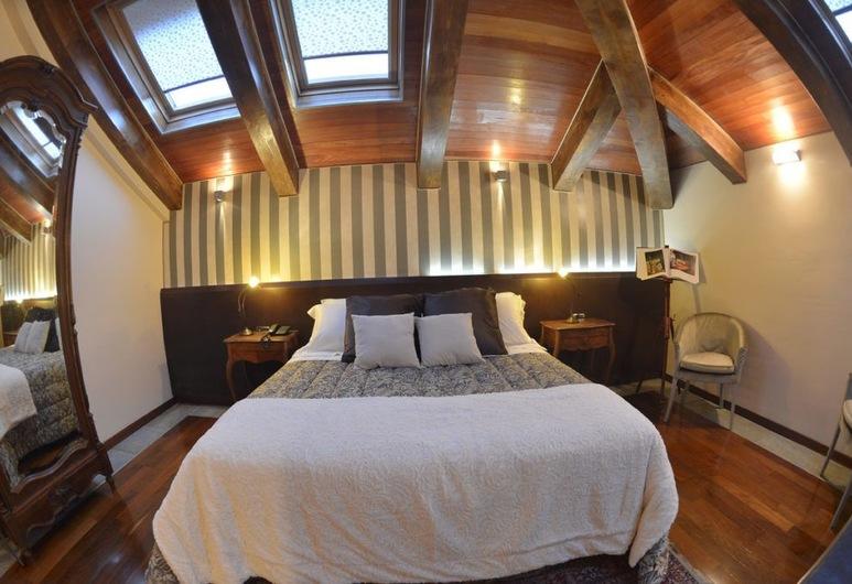 Hotel dei Pittori, Turín, Dvojlôžková izba typu Superior, Hosťovská izba