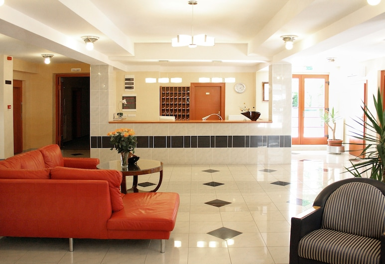 Hotel Korona, Harkany, Reception