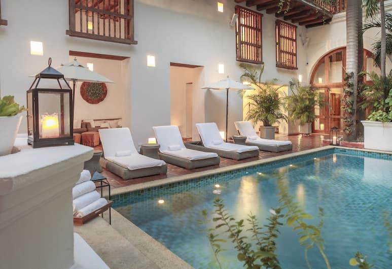 Hotel Casa San Agustin, Cartagena, Piscina al aire libre