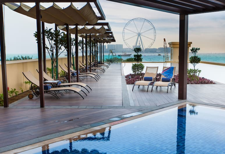 JA Ocean View Hotel, Dubajus, Terasa / vidinis kiemas