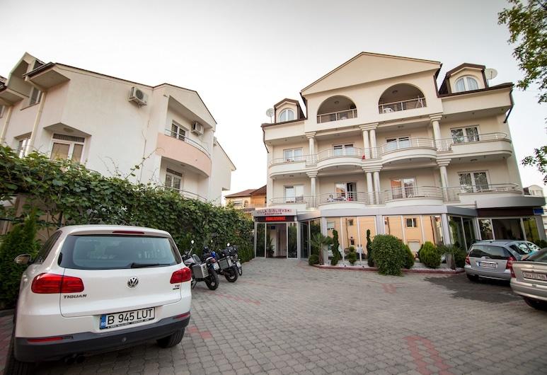 Hotel Villa Dislievski, Ohrid, Fachada del hotel