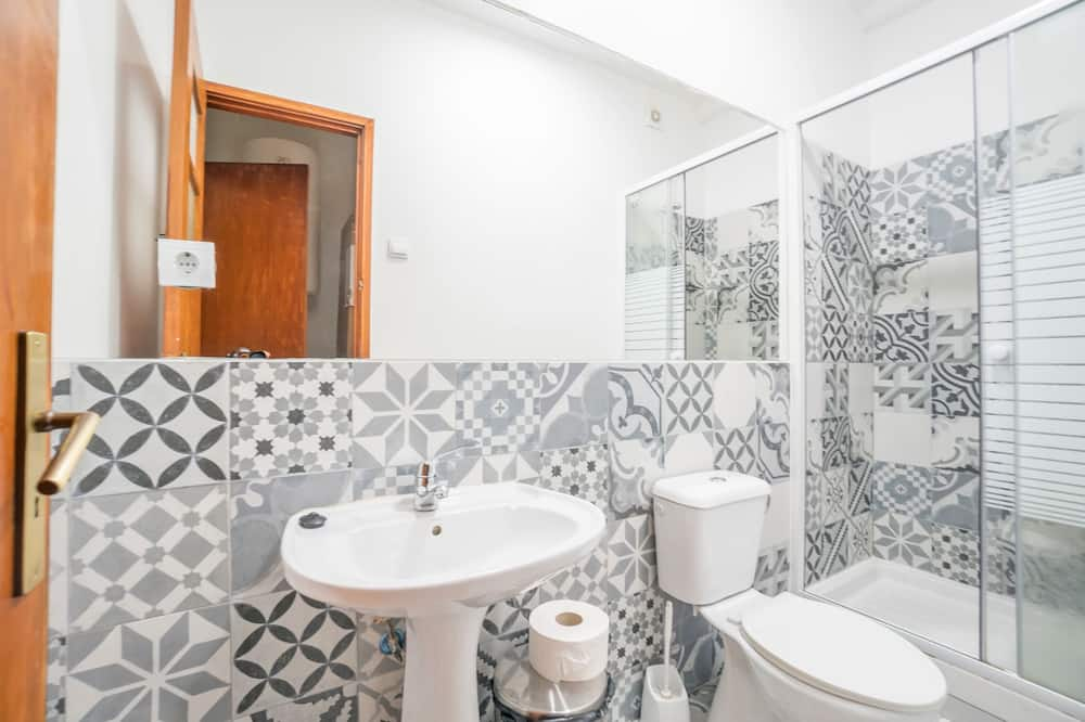 高級雙人或雙床房, 私人浴室, 城市景 - 浴室