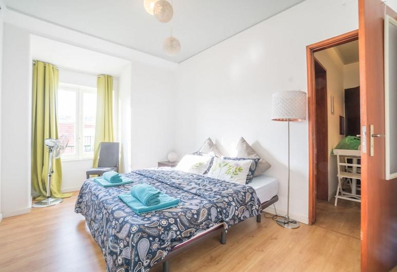 Vistas de Lisboa Hostel, Lissabon, Superior-Doppel- oder -Zweibettzimmer, mit Bad, Stadtblick, Zimmer
