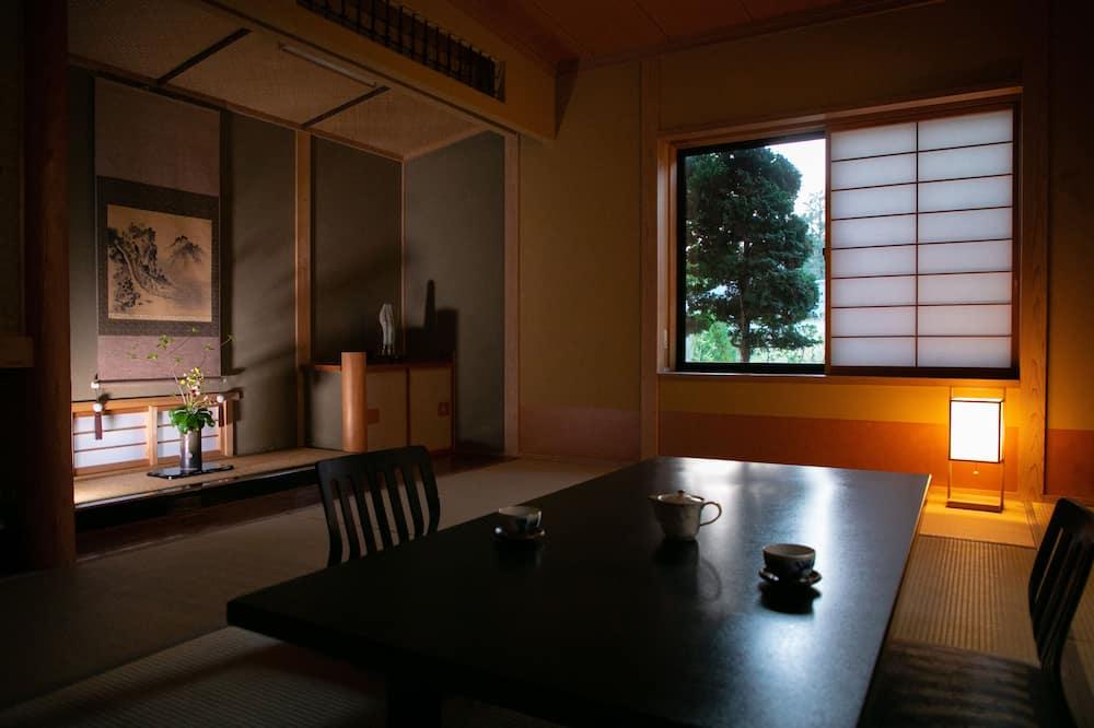 Habitación tradicional (Japanese Style w/OpenAirBath for 4ppl) - Sala de estar