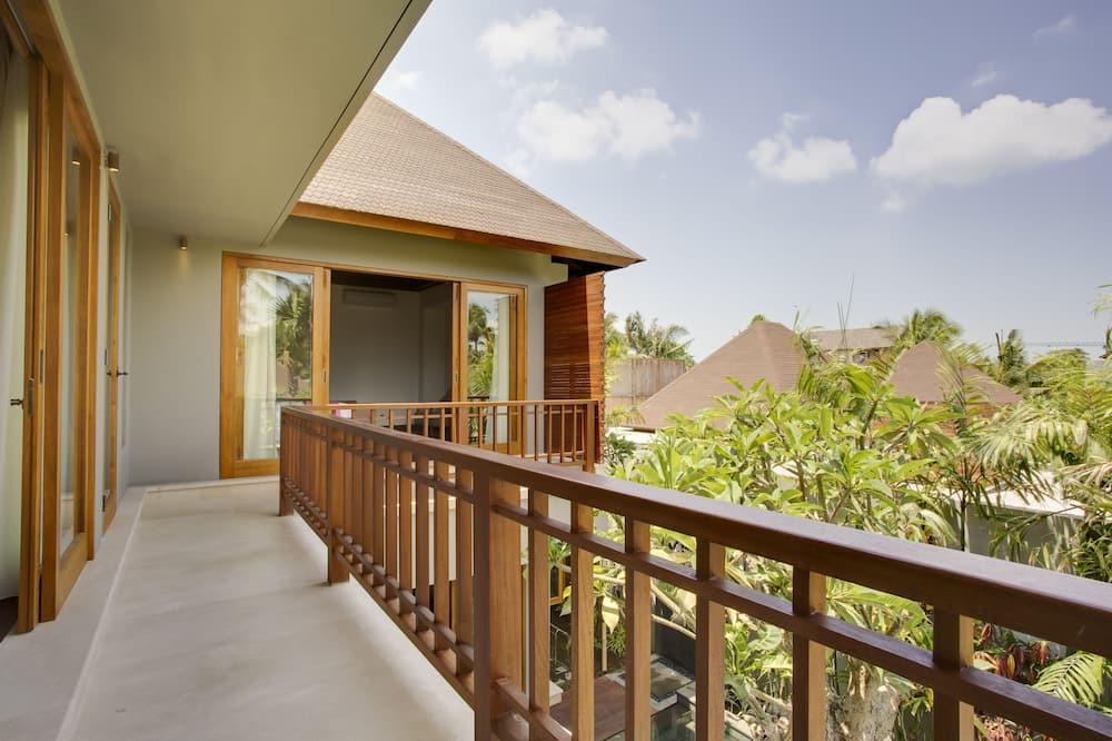 Villa, 3 habitaciones, piscina privada - Balcón