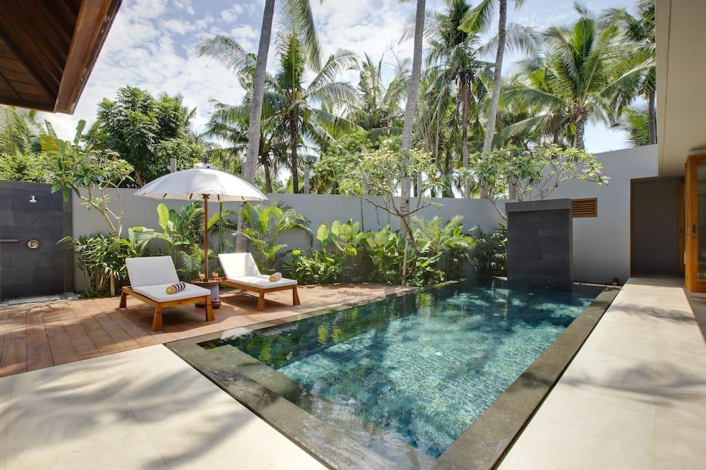 Villa, 2 habitaciones, piscina privada - Vista de la habitación