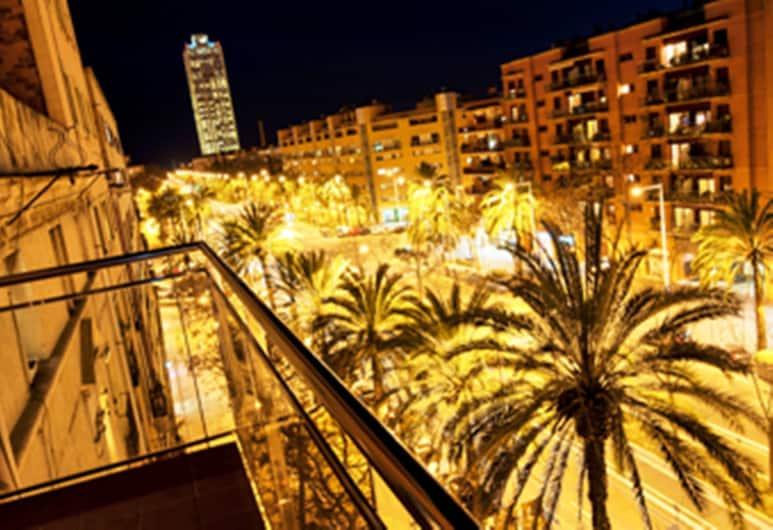 아파트먼트 사타 올림피크 빌리지 에어리어, 바르셀로나, 숙박 시설에서 보이는 전망