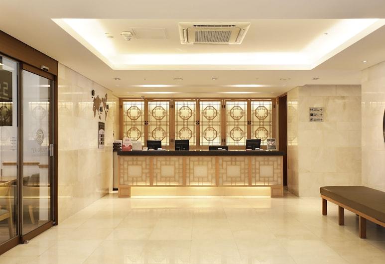 鐘路區亞雲樹酒店, 首爾, 櫃台