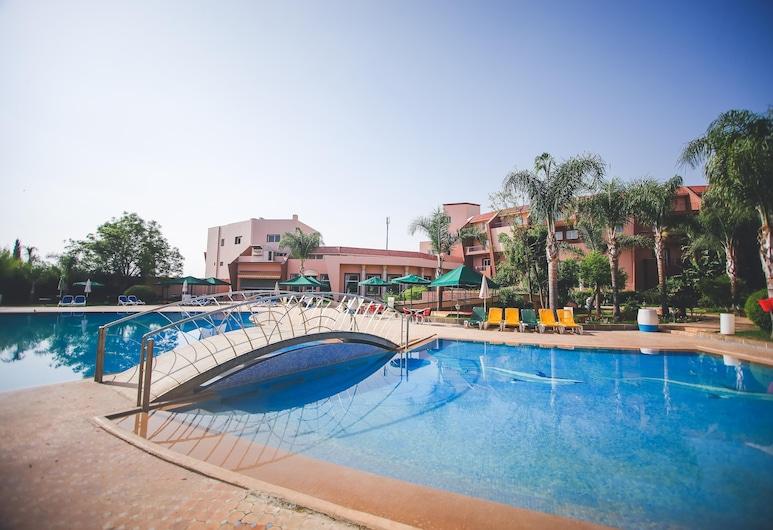 Hotel Menzeh Dalia, Mequinez, Piscina