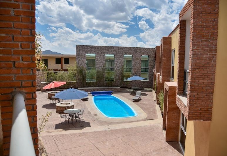 Hotel Camino de Piedra, Guanajuato, Standard Room, 2 Double Beds, Courtyard View