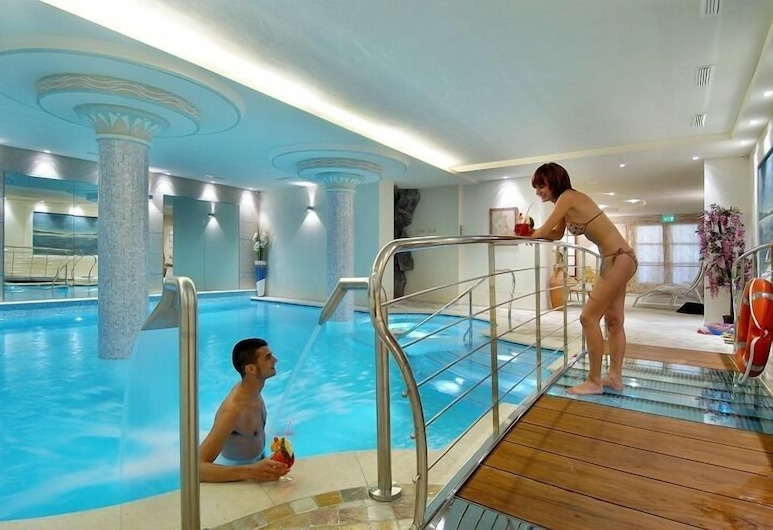 Alexander Hotel Alpine Wellness Dolomites, Molveno, Indoor Pool