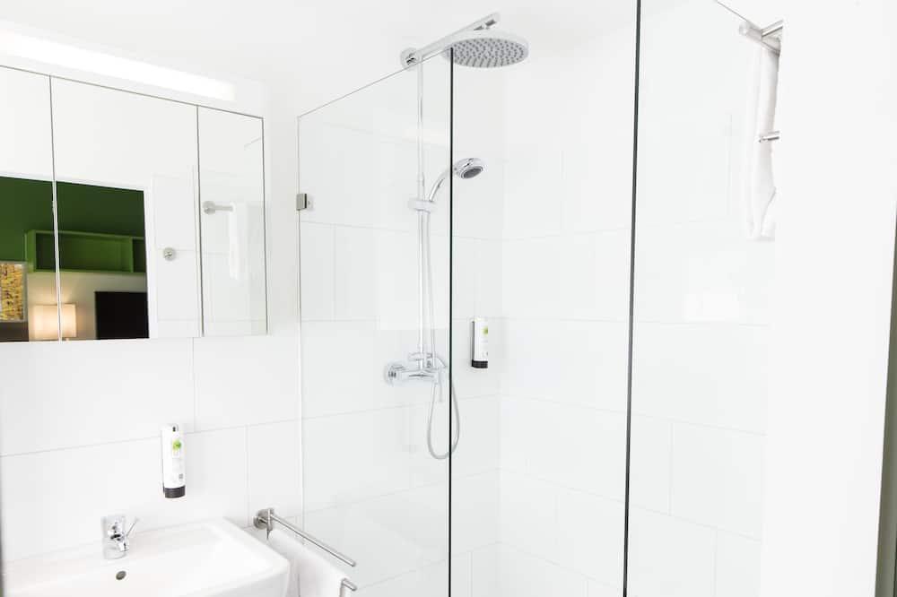 Deluxe-Apartment (Single Use) - Badezimmer
