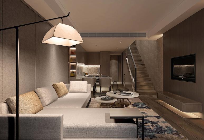 Shanghai Marriott Hotel Pudong East, Šanghaj, Apartmán, 1 spálňa, nefajčiarska izba, Hosťovská izba