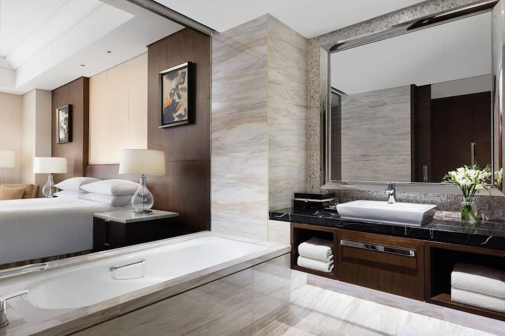 Executive-Suite, 1King-Bett, Nichtraucher - Badezimmer