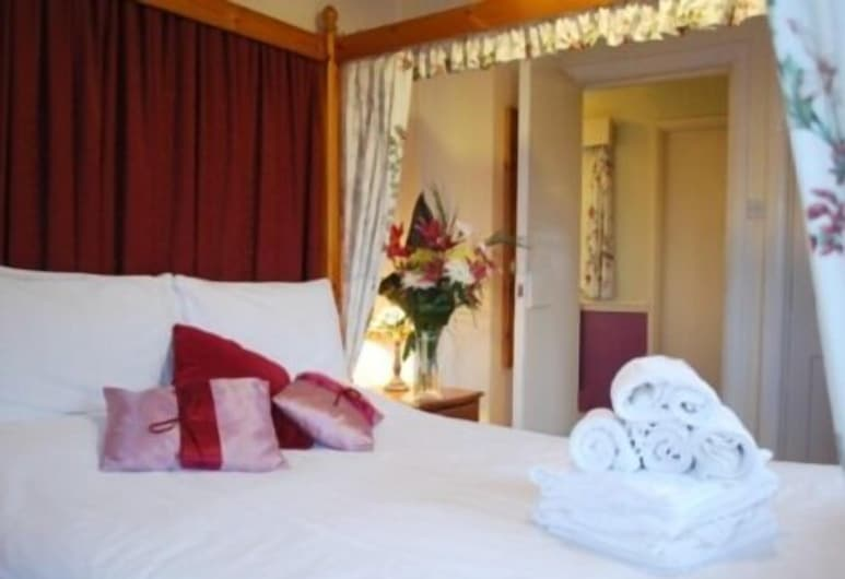 Kings Arms Inn, Exeter, Premier Double Room, Ensuite (Four Poster), Guest Room