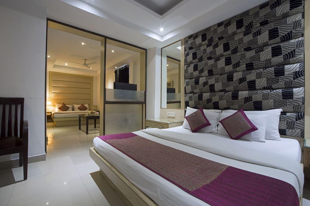 Familiekamer, 2 tweepersoonsbedden - Kamer