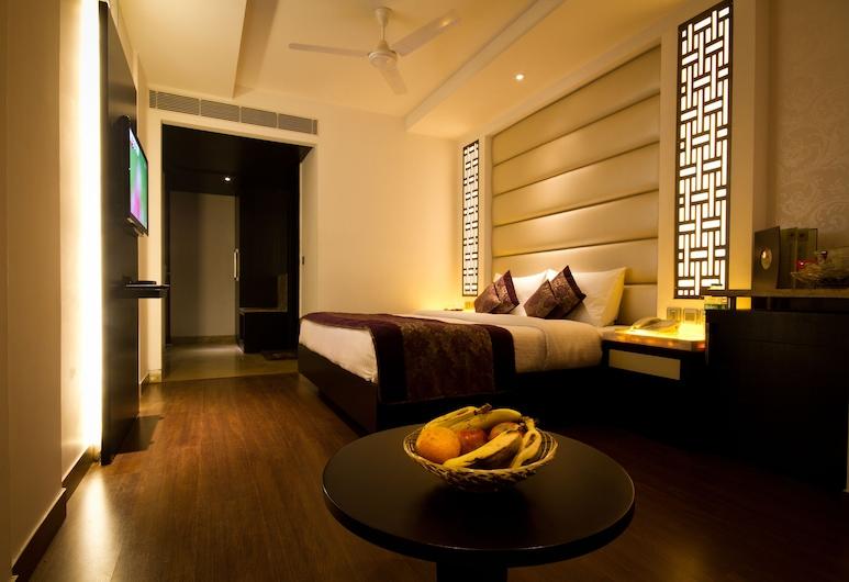 Hotel City Star, Neu-Delhi, Executive-Doppel- oder -Zweibettzimmer, 1 Doppelbett oder 2 Einzelbetten, Zimmer
