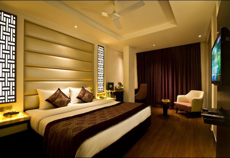 Hotel City Star, New Delhi, Executive dvokrevetna soba, 1 bračni krevet ili 2 kreveta za jednu osobu, Soba za goste